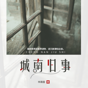城南旧事(台湾作家林海音的北京记忆)丨博集新媒